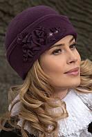 """Элегантная женская шапка-боярка Willi """"Oliena"""""""