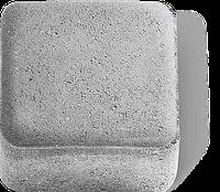 Тротуарная плитка Паркет серый
