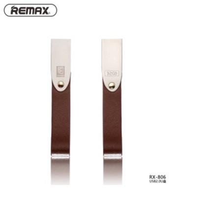 Флэш-накопитель Remax RX-806, Chip: Samsung, USB 2.0, 32GB, 5V, 7.25/21.3MByte/s, Nickel, Алюминиевый сплав, BOX