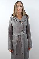 Пальто жіноче №57 (світло - сірий), фото 1
