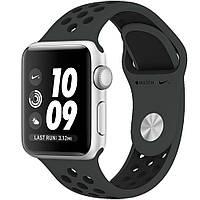 Ремешок xCase для Apple Watch Sport Nike 42/44 mm Anthracite black (серо черный)