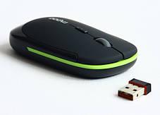 Игровая радио мышь Rapoo 3500 черная 1600 DPI беспроводная для компьютера ноутбука, фото 3
