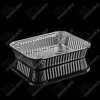 Контейнер с крышкой из пищевой алюминиевой фольги R51L (212*163*37)