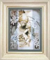 Набор для вышивания «Женщина с ребенком»