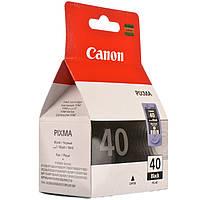 КАРТРИДЖ CANON PG-40 (0615B001) BLACK