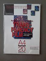 Пленка для струйной печати прозрачная А4 20 л/упак ITO-20 Daito (02725)