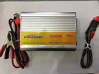 Инвертор напряжения, преобразователь 500W, фото 1