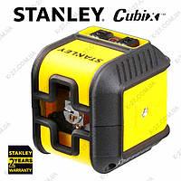 Лазерный нивелир крослайнер STANLEY «Cubix»  STHT 77498-1