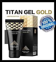 Титан Гель ГОЛД ОРИГІНАЛ (Titan Gel GOLD Original) - гель для збільшення члена, збудник (Росія)