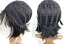 💎Натуральный парик каре с чёлкой, без имитации💎 из натуральных волос, фото 6