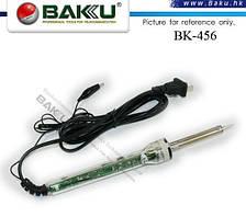Электрический паяльник BAKKU BK-456 c регулировкой температуры, Blister-box