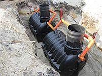 Автономная канализация (биостанция с очисткой 98%) для дома на 3-4 человека, фото 2