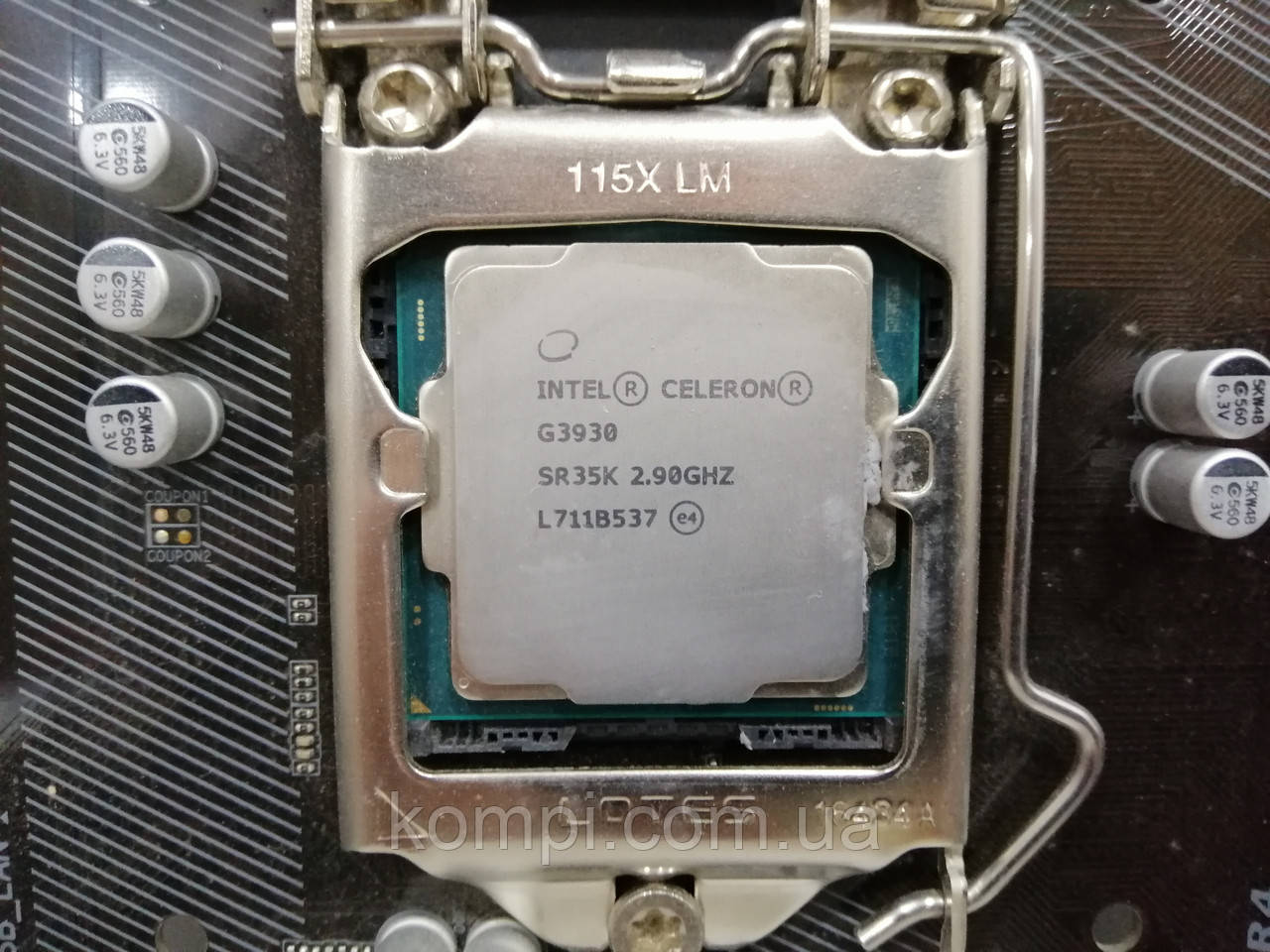 Процесор Intel Celeron Socket 1151 G3930 2,9 MHz 2MB кеш /2,90 ГГц Socket 1151 бу