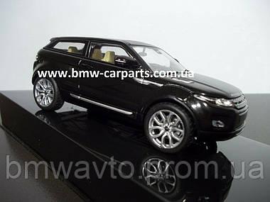 Модель автомобиля Range Rover Evoque 5 Door, Scale 1:43, Santorini Black, фото 2