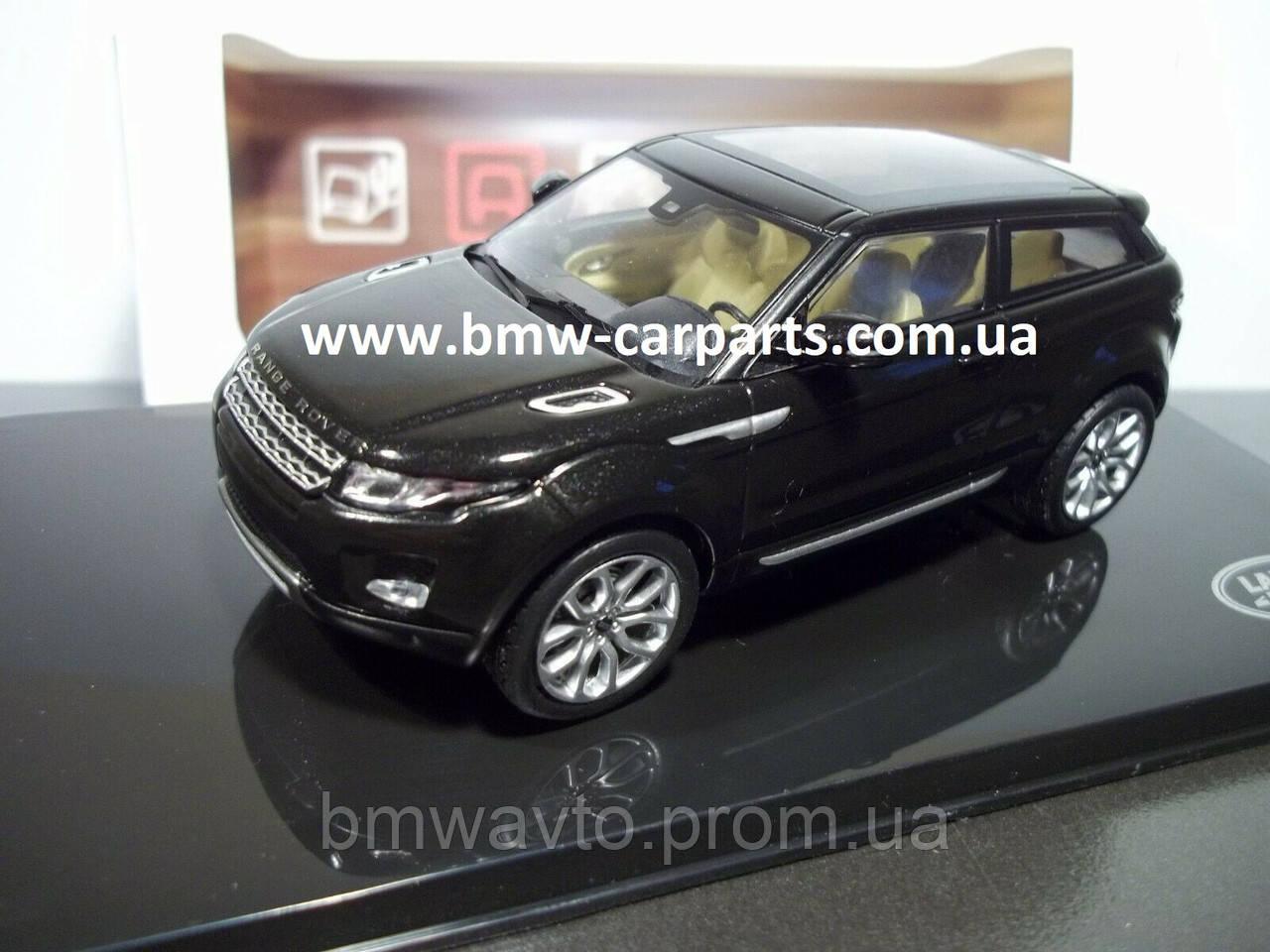 Модель автомобиля Range Rover Evoque 5 Door, Scale 1:43, Santorini Black