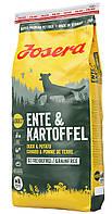 Сухой беззерновой корм для собак Josera Ente & Kartoffel (Йозера Енте Картофель) с уткой и картофелем