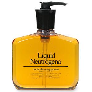 Гель для умывания Liquid Neutrogena Facial Cleansing Formula