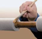 Аксессуары для трубной изоляции (клей, скотч, лента)