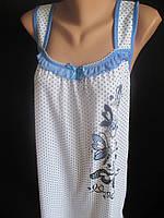 Летние ночнушки в горошек для женщин., фото 1