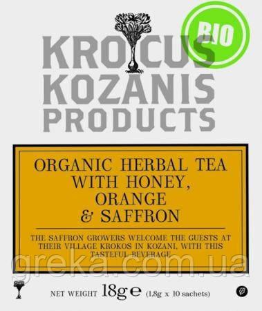 Чай с шафраном и медом, фото 1
