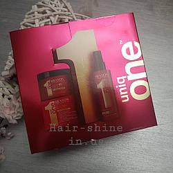 Набор для волос Revlon Professional Uniq One  спрей 150мл + маска 300мл