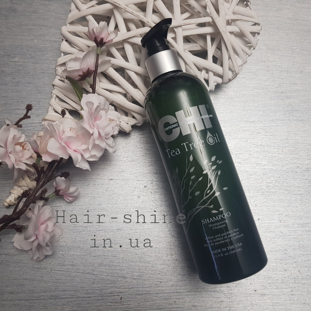 Шампунь CHI с маслом чайного дерева Tea Tree Oil Shampoo 355 мл