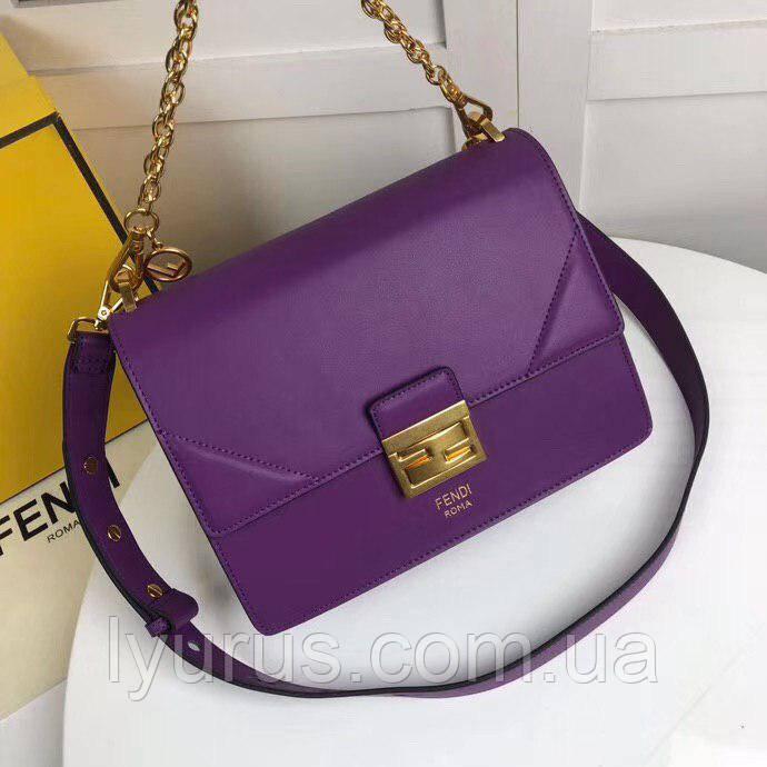 eedc6af25355 Женская кожаная сумка Fendi (Фенди), цена 2 440 грн., купить в Полтаве —  Prom.ua (ID#806053267)