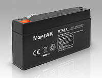 Аккумулятор MastAK MT613 6v1.3Ah)