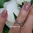 Кольцо фаланговое серебряное, фото 3