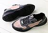 Кроссовки в стиле Louis Vuitton бежевые с серым и черным