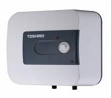 Накопительный водонагреватель электрический бойлер Toshiro WSB EH 15 над мойкой (трубки вниз)
