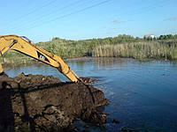 Очистка рек, озер в Украине