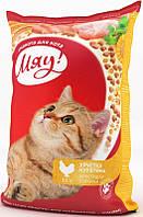 Мяу! корм для взрослых кошек хрустящая курочка, 11 кг