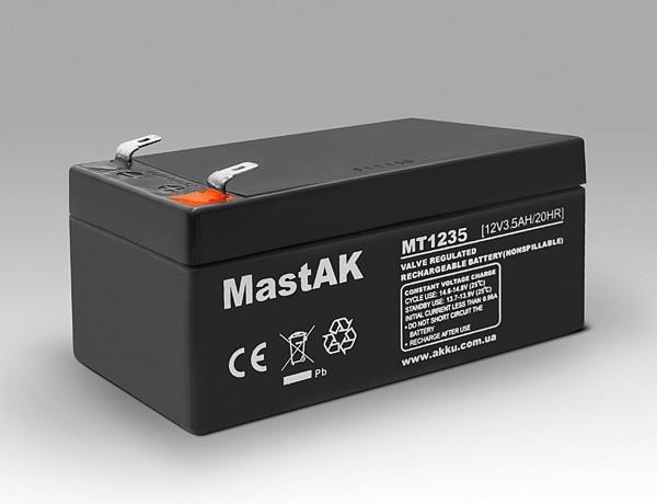 Аккумулятор MastAK MT1235 ( 12v 3.5Ah )