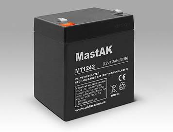 Акумулятор MastAK MT1242 (12v 4.2 Ah)