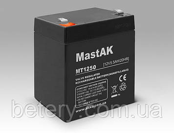 Акумулятор MastAK MT1255 ( 12v 5.5 Ah )