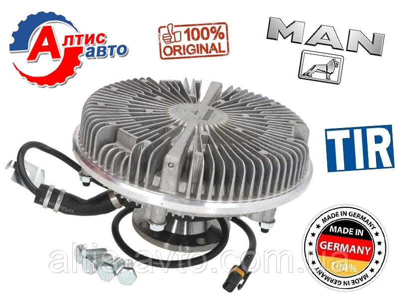 Вискомуфта Ман Тга,Tgm, Tgs, Tgx система охлаждения двигателя Гидромуфта MAN без вентилятора 51066300130