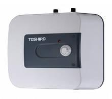 Накопительный водонагреватель электрический бойлер Toshiro WSB EHU 15 под мойкой (трубки вверх)