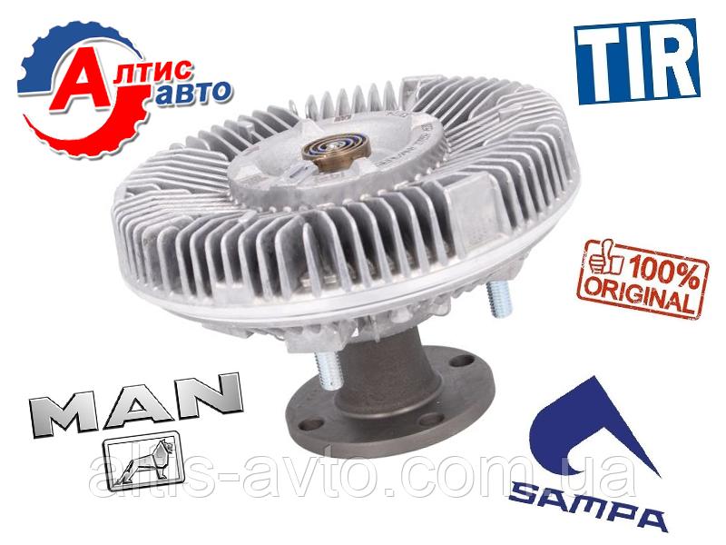 Віскомуфта МАН L2000 TGL, 8.180, 8.163, 8.150 LE M2000 для двигуна D0824/D0826-D0834/D0836 Гідромуфта MAN
