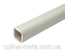 Труба ПВХ 22*22 мм. квадратная для нипельного поения (облегченная)