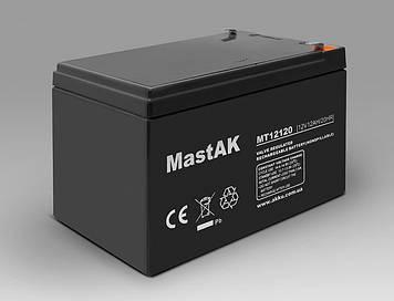 Акумулятор MastAK MT12120 (12v 12Ah)