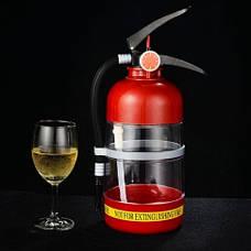 Резервуар для коктейлей в виде огнетушителя. Емкость для напитков, для алкоголя 1,5л., фото 3