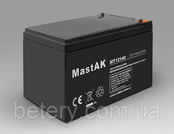 Аккумулятор MastAK MT12140 (12v 14Ah)