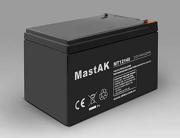 Акумулятор MastAK MT12140 (12v 14Ah)