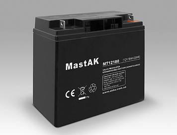 Акумулятор MastAK MT12180 (12v 18Ah)