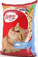 Мяу! корм для взрослых кошек отборная рыбка, 11 кг