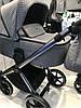Дитяча універсальна коляска 2 в 1 Riko Qubus 01 Crystal, фото 2
