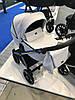 Детская универсальная коляска 2 в 1 Riko Qubus 04 Platinum, фото 5