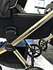 Детская универсальная коляска 2 в 1 Riko Qubus 05 Gold, фото 4