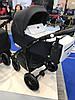 Детская универсальная коляска 2 в 1 Riko Villa 02 Platinum, фото 2